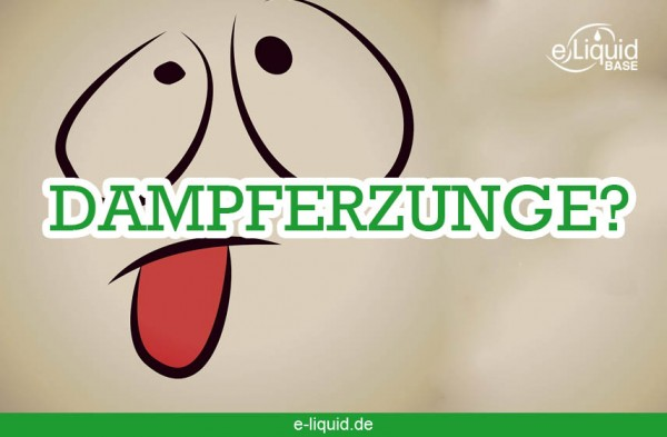 Dampfer-Zunge-e-liquid-base